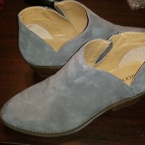 Lucky Brand Suede Booties Size 7.5